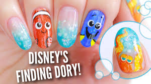 disney u0027s finding dory nails youtube