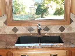 kitchen sink backsplash what materials can be used as backsplashes for kitchen kitchen