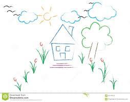Modern House Drawing by Flower Garden Drawing Garden Trends