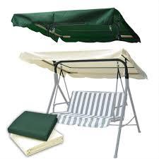 Covermates Patio Furniture Covers - abba patio outdoor veranda 3 triple seater hammock canopy swing