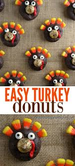 easy turkey donuts manages mommyhood