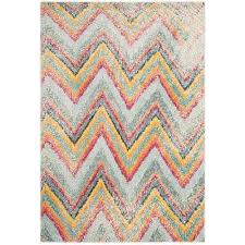 Green Chevron Area Rug 4 X 6 Chevron Area Rugs Rugs The Home Depot