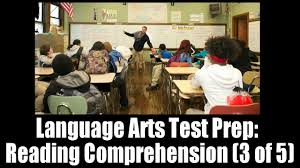 language arts test prep reading comprehension lesson 3 of 5