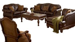 Leather And Fabric Living Room Sets Furniture Shore 3pc Living Room Set The Home
