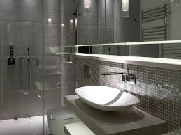 bathroom brown floor tile double vanity master bathroom pendant