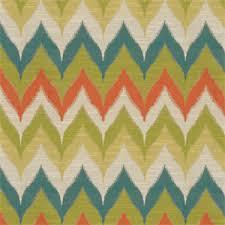 Tropical Upholstery Kosala Zig Zag Chevron Stripe Tropical Upholstery Fabric By