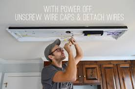 Replace Fluorescent Light Fixture In Kitchen by Wiring Diagram For Two Fluorescent Lights U2013 The Wiring Diagram