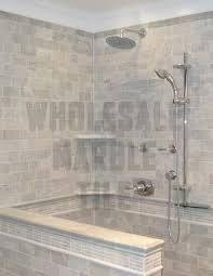 marble tile bathroom ideas calacatta michelangelo marble polished 18x36 white marble tile