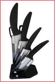 ceramic knife set u2013 checkered chef