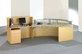 Curved Office Desk by Office Counter Design For Curved Reception Desk Buy Curved