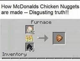 Disgusting Monday Memes - dopl3r com memes how mcdonalds chicken nuggets are made