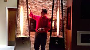 az patio heater reviews lava heat italia outdoor patio heaters product review youtube