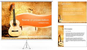 powerpoint guitar template music powerpoint templates free ppt