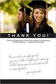 graduation photo cards college graduation thank you note paso evolist co