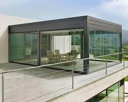 Outdoor Glass Room - create your own customised outdoor room vanguard blinds