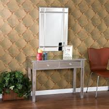 Glass Mirrored Bedroom Furniture Bedroom Furniture Sets Entry Console With Drawers White Console