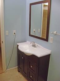 Beveled Bathroom Mirrors Home Designs Bathroom Vanity Mirrors Oval Bathroom Mirrors