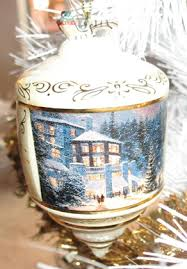 2006 kinkade ornaments
