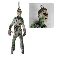 walking dead walker resin figural ornament