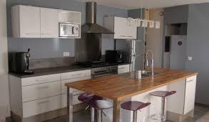 ilo de cuisine modle de cuisine avec ilot central modele de cuisine en l
