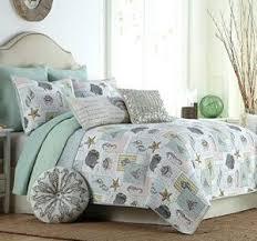 Beach Themed Comforter Sets King Coastal Bedding Comforter Sets Coastline King Comforter Set