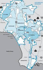 Los Angeles Maps by 10 Unusual Maps Of Los Angeles U2014 The Bold Italic U2014 San Francisco