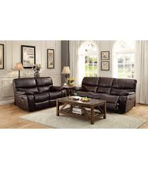 power reclining sofa set pecos power reclining sofa set leather gel match dark brown