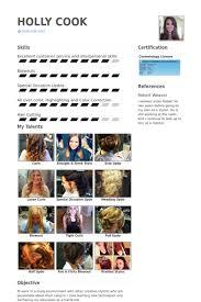hair stylist resume samples visualcv resume samples database