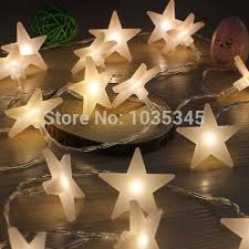 battery operated star lights 40 led party fairy lights battery operated five pointed star light