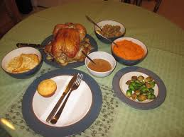 thanksgiving on my own i decided to make a feast for one