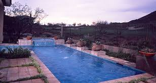 Beautiful Pool Backyards Beautiful Pools For A Big Arizona Backyard Shasta Pools U0026 Spas