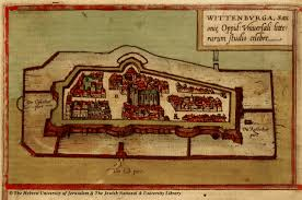 Wittenberg Germany Map by Map Of Wittenberg 1572 Braun And Hogenberg