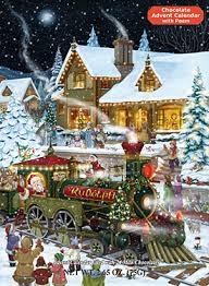 chocolate advent calendar whistle stop christmas chocolate advent calendar chocolate advent
