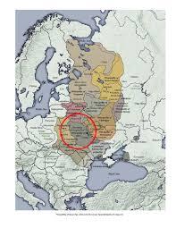 Kiev Map Principality Of Kiev Drevlyans Order Of Medieval Women