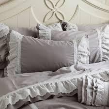 Ruffled Comforter Bedroom Sham Bedding Ruffle Bedspread Ruffle Bedding