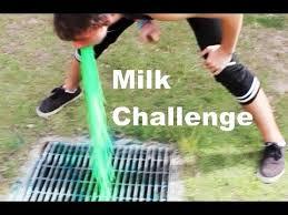 Challenge Vomit Milk Challenge Vomit Warning
