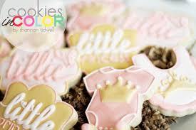 baby shower cookies in color cookies in color princess baby shower cookies