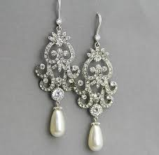 bridal chandelier earrings bridal earrings bridal chandelier earrings chandelier wedding