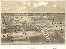 Map Of Columbus Birdseye View Of Camp Chase Near Columbus Ohio