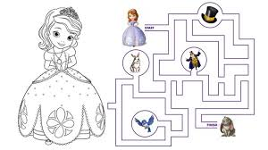 18 sofia coloring pages games