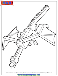 cool ender dragon coloring page minecraft coloring pages