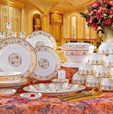bowl set 56 quality bone china dinnerware set the plate marriage