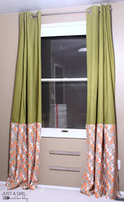 ikea hack no sew curtains just a and her blog