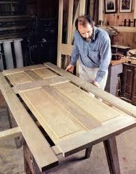 making a wood table making wooden doors woodarchivist