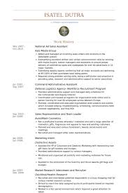 Office Assistant Resume Example by Sales Assistant Resume Samples Visualcv Resume Samples Database