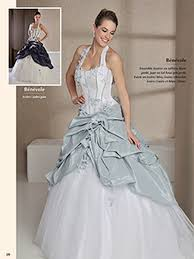 robe de mariã e grise et blanche collection de robes de mariage couture chez créa