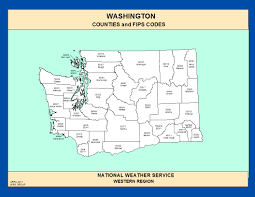 Wa State County Map by Maps Washington Counties And Fips Codes