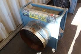 blue wizard pneumatic and dust blastmaster extractor auction 0004