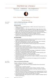 Marketing Achievements Resume Examples by Sales U0026 Marketing Manager Resume Samples Visualcv Resume Samples