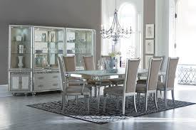 Aico Furniture Dining Room Sets Aico Bel Air Park Crystal Dining Set Collection Usa Furniture